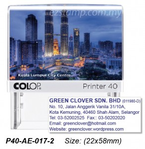 COLOP P40-AE-017-1