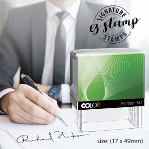 SIGNATURE STAMP - P30 (17x46mm)