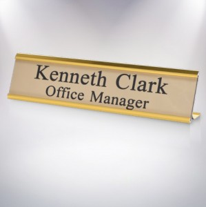 GOLD-DESK SIGN