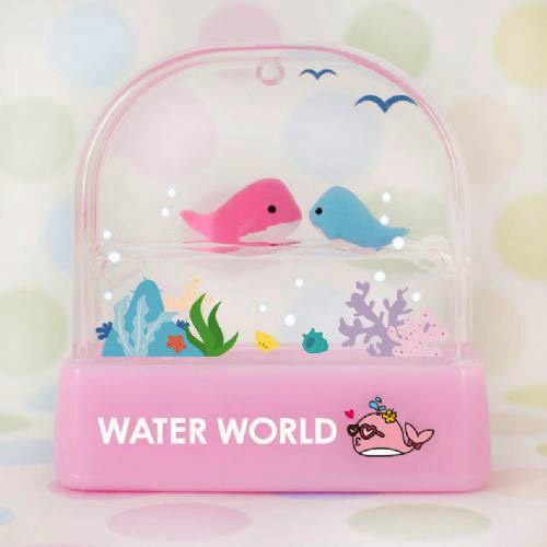 Happy Whale Water World Stamp