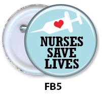 Nurse Button Badge