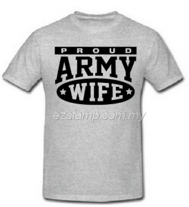 Army Wife SN16 (Unisex) - Grey