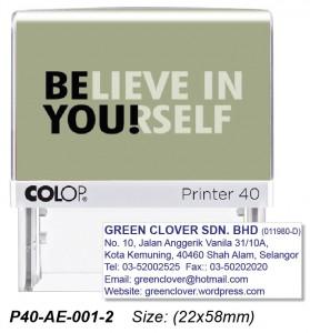 COLOP P40-AE-001-2
