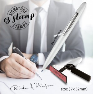 STAMP WRITER SIGNATURE STAMP (7x32mm)