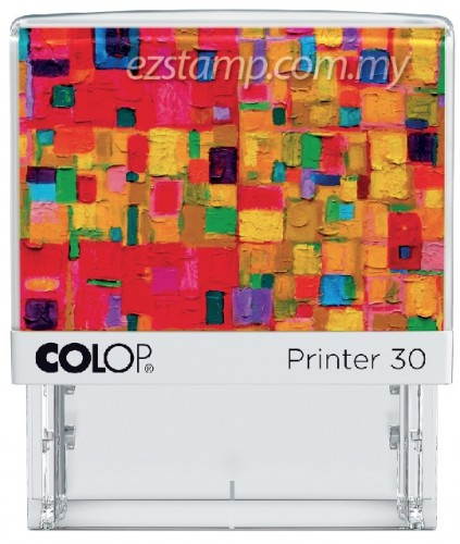 COLOP P30-ABSTRACT  (17x49mm)