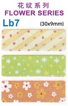Lb7 FLOWER SERIES name sticker