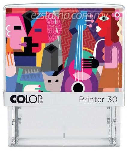 COLOP P30-CUBISM  (17x49mm)
