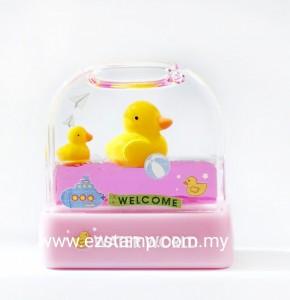 Water World Stamp - Yellow Duck WW16