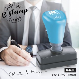 SMALL SIGNATURE STAMP - PRE-INK