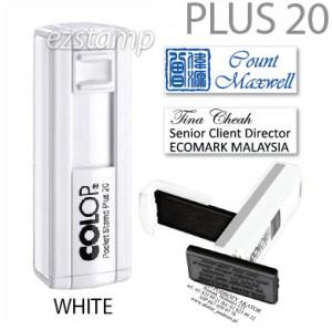 COLOP Pocket PLUS 20 - WHITE