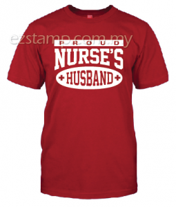 Nurses Husband SN14 (Unisex) - Red