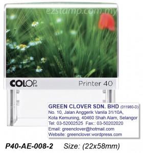 COLOP P40-AE-008-1