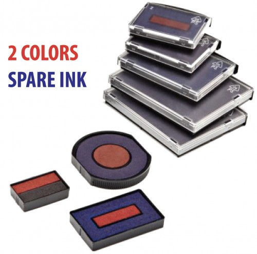2 Colors Spare Pad for Colop