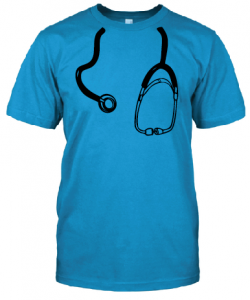 Super Doc Tee 5 (Unisex) - Blue