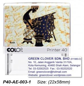 COLOP P40-AE-003-2