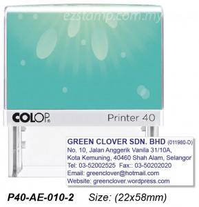 COLOP P40-AE-010-1