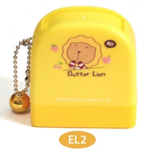 butter lion name stamp