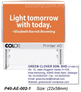 COLOP P40-AE-002-2