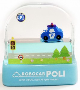 Poli Car Water World Stamp