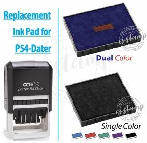 Replacement Ink Pad for COLOP P54D-Dater