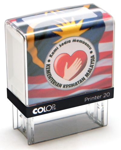 colop self-inking untuk pegawai perubatan