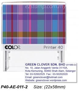 COLOP P40-AE-011-1