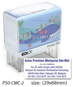 COLOP P50-CMC-2 (29x68mm)