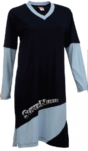 Super Nurse 3 Muslimah - GREY (silver)
