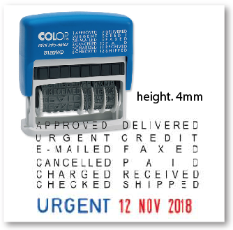 Colop S120 Wd Height 4mm Ez Stamp