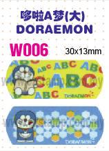 W006 哆啦A梦(大) DORAEMON name sticker 姓名贴纸