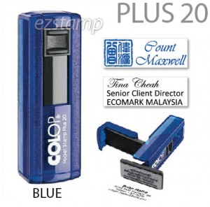 COLOP Pocket PLUS 20 - BLUE