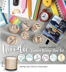 WOODIES TEACHER STAMP BOX SET | LIMITED EDITION