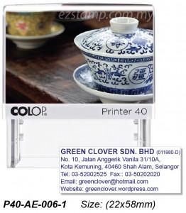 COLOP P40-AE-006-2