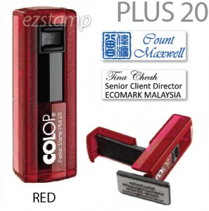 COLOP Pocket PLUS 20 - RED