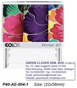 COLOP P40-AE-004-2