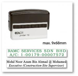 COLOP P15 (9x68mm)