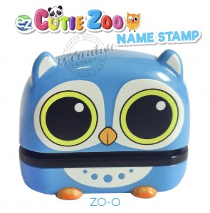 cutie zoo name stamp