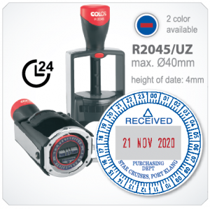 colop heavy duty R2045/UZ  (Ø 40mm with Dater)