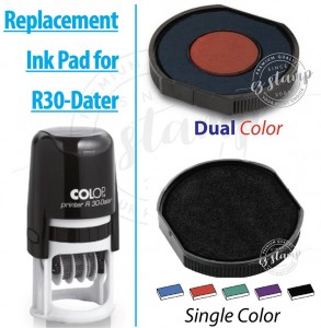 Replacement Ink Pad for COLOP R30-Dater