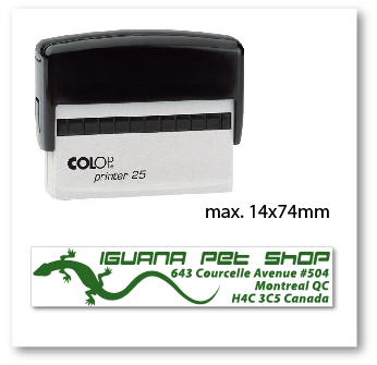 colop self-inking stamp