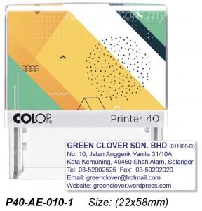 COLOP P40-AE-010-2