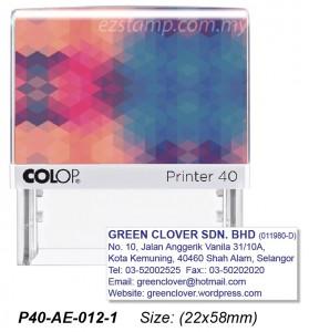 COLOP P40-AE-012-2