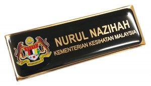 Epoxy Name Tag- Pegawai (25x74mm)
