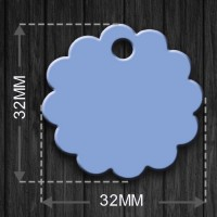 Pet Tag MEDAL_CURVE_26MM